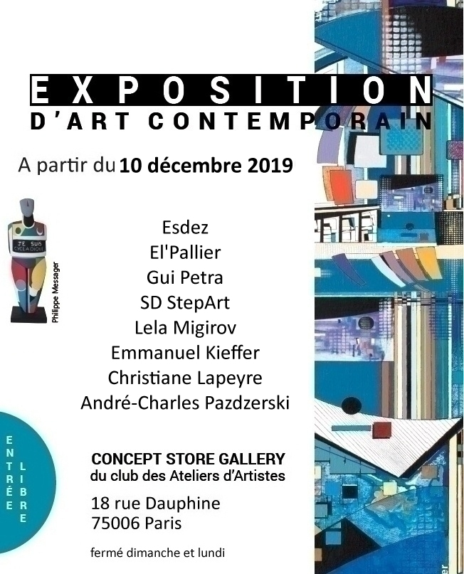 Expo Christiane Lapeyre Paris - Paris 2019